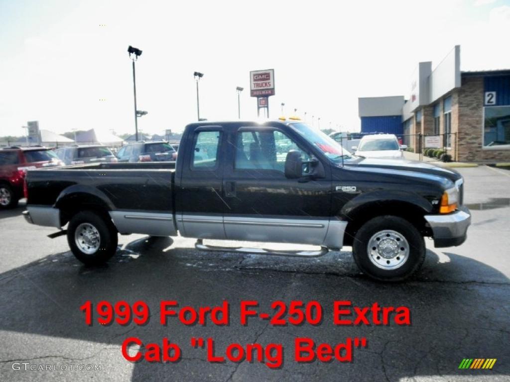 1999 black ford f250 super duty xlt extended cab 49799711 car color galleries. Black Bedroom Furniture Sets. Home Design Ideas