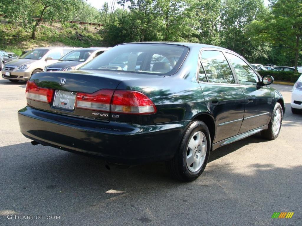 2001 dark emerald pearl honda accord ex v6 sedan 49799722 photo 6 car color. Black Bedroom Furniture Sets. Home Design Ideas