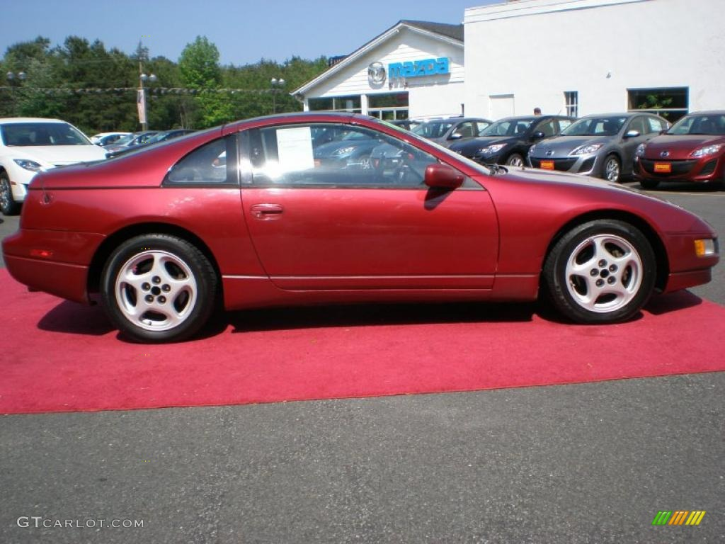 Cherry Red Pearl Metallic 1994 Nissan 300ZX Coupe Exterior ...