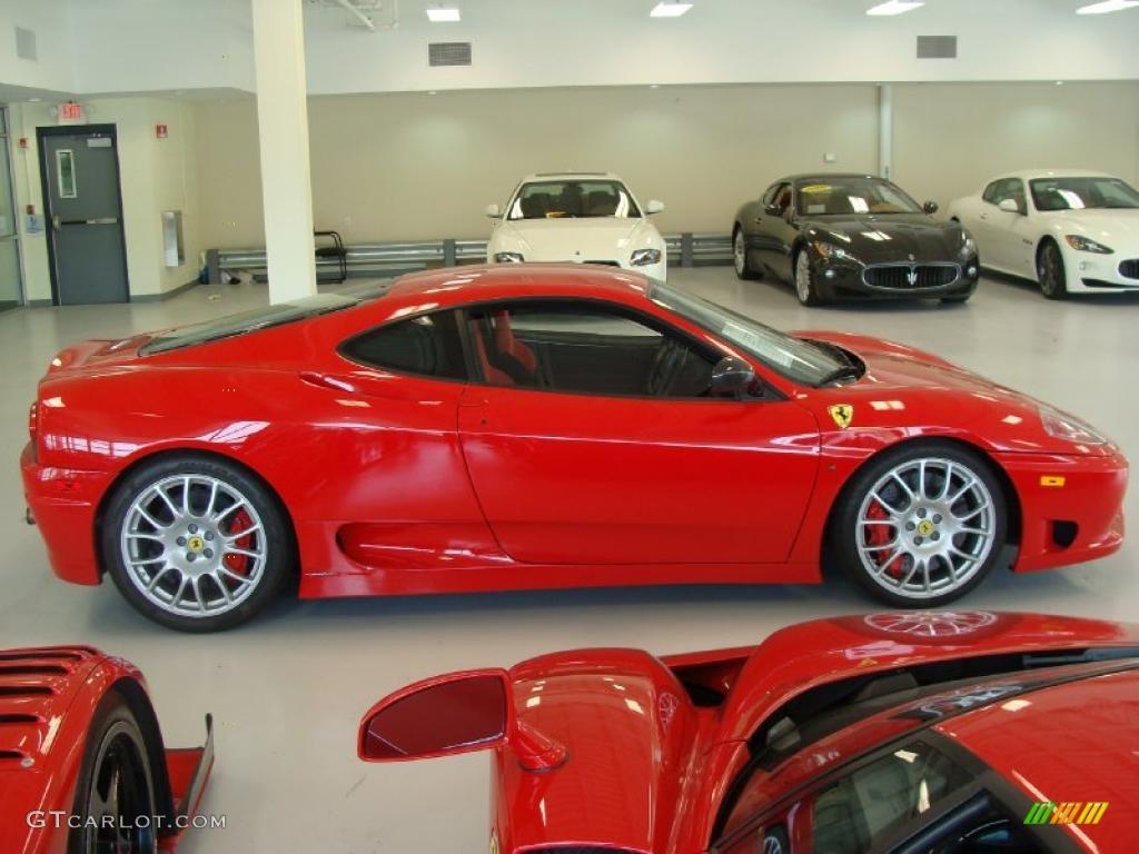 Rosso Corsa Red 2004 Ferrari 360 Challenge Stradale F1