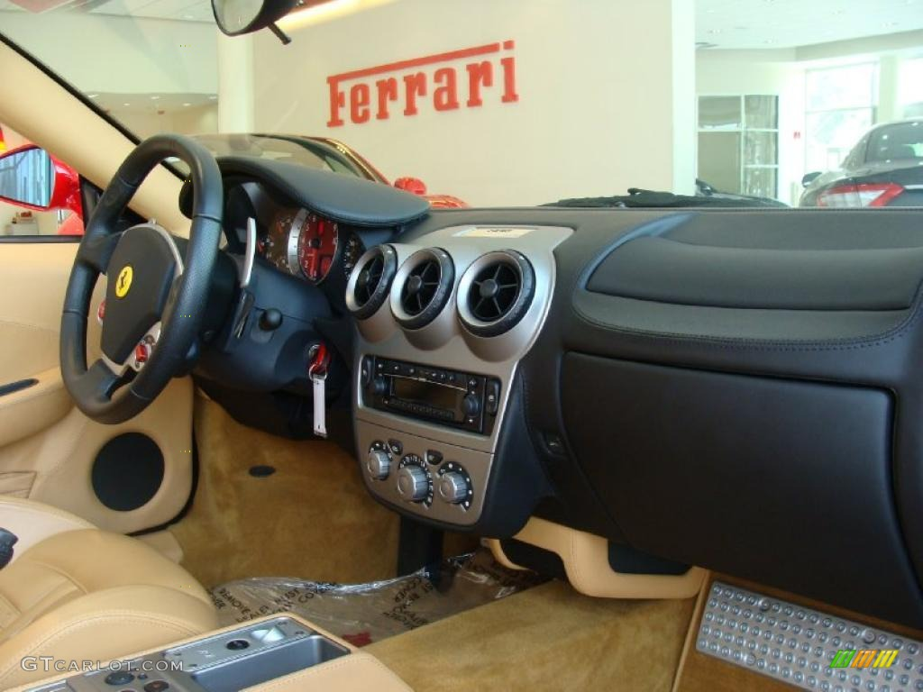 2005 Ferrari F430 Spider F1 Beige Dashboard Photo #49864193 | GTCarLot ...