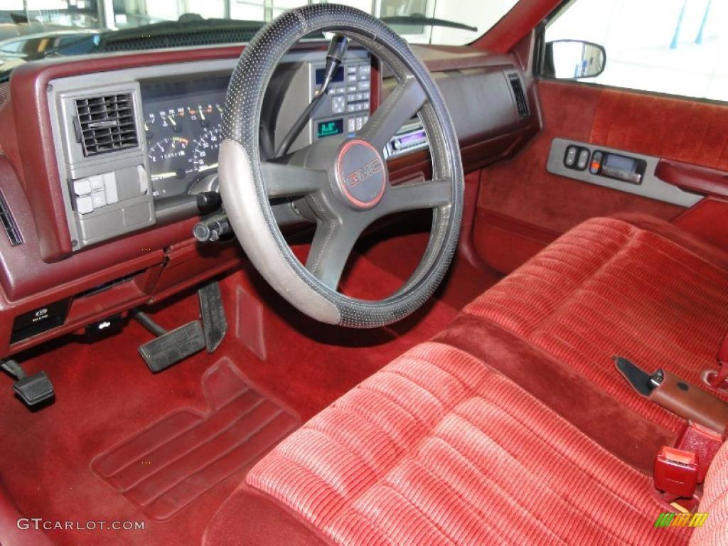 1993 Gmc Sierra 1500 Sle Regular Cab Interior Photo 49865192 Gtcarlot Com