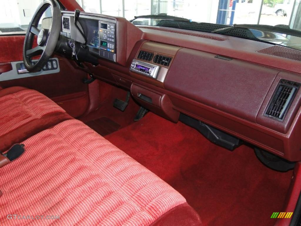 2000 Chevy Silverado 2500 4x4 Red Interior 1993 GMC Sierra 1500 SLE Regular Cab Photo ...