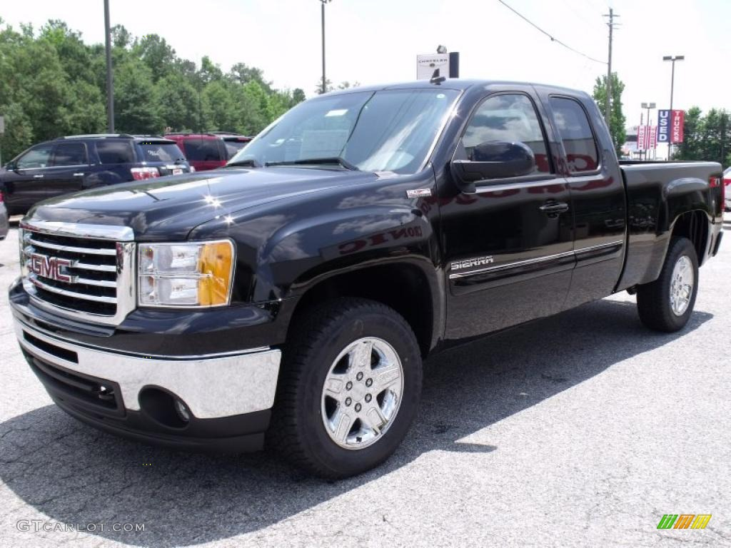 2011 gmc sierra 1500 sle all terrain extended cab exterior photos. Black Bedroom Furniture Sets. Home Design Ideas