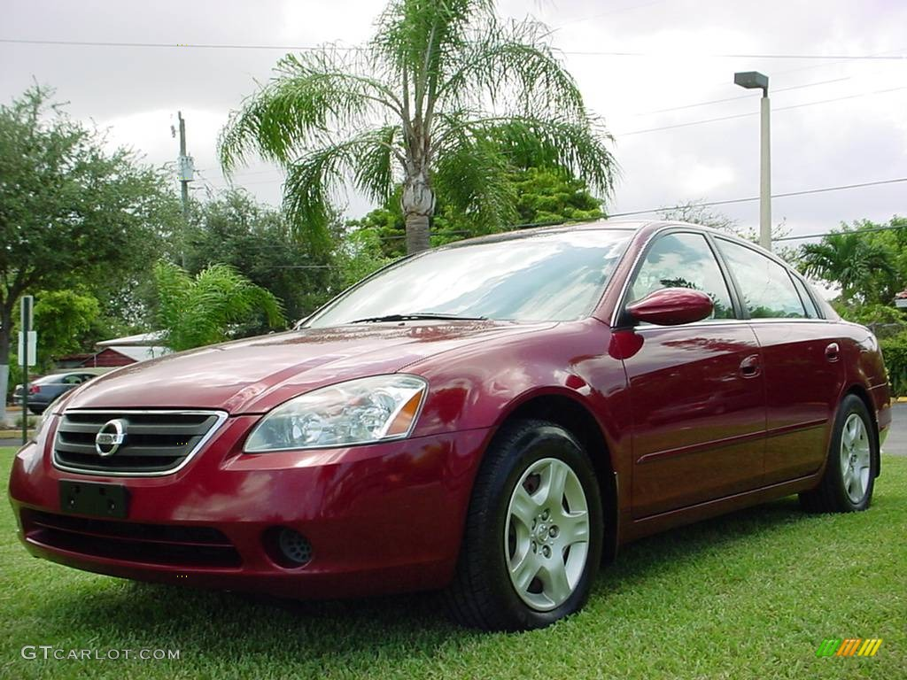 Sonoma Sunset Pearl Red Nissan Altima