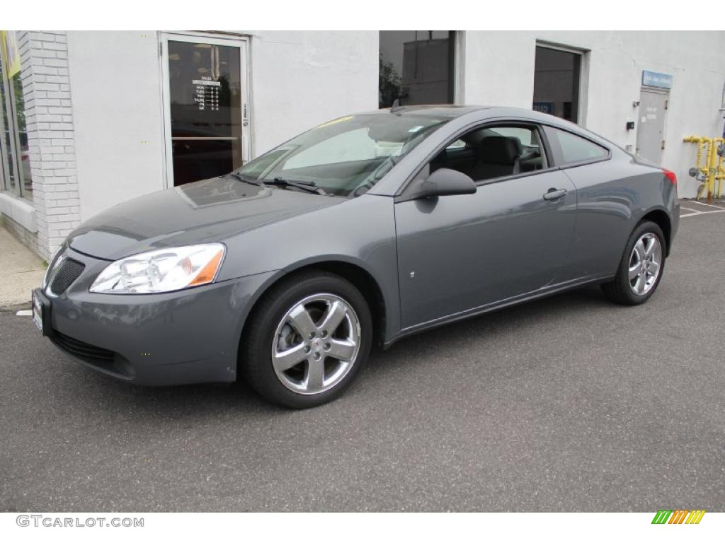2008 Dark Steel Gray Metallic Pontiac G6 Gt Coupe