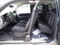 2011 Sierra 1500 SL Extended Cab Dark Titanium Interior