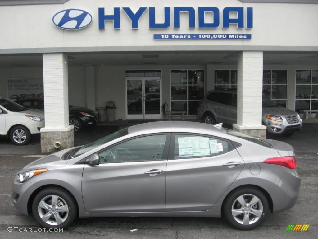 2011 Titanium Gray Metallic Hyundai Elantra Gls 49856074 Gtcarlot Com Car Color Galleries