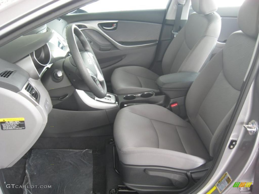 Gray Interior 2011 Hyundai Elantra Gls Photo 49872407