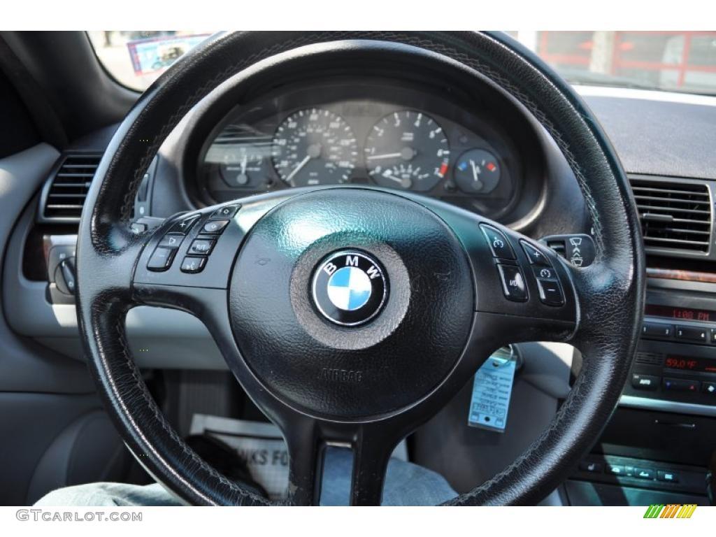 BMW Series I Convertible Grey Steering Wheel Photo - Bmw 325i steering wheel