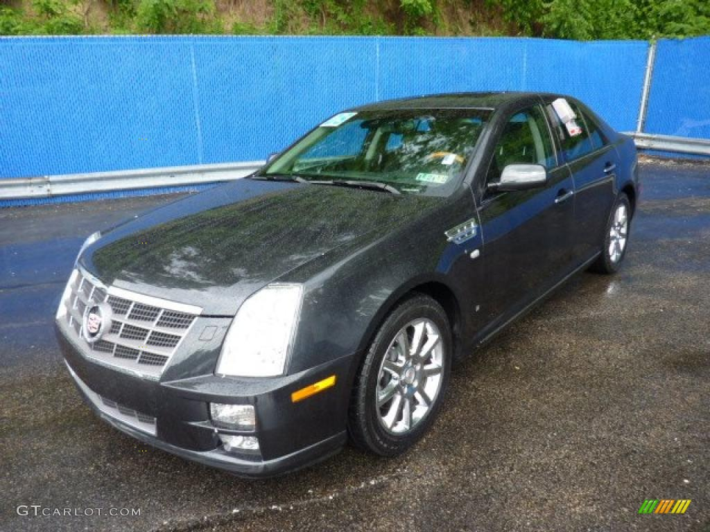 moonstone gray 2008 cadillac sts 4 v8 awd exterior photo. Black Bedroom Furniture Sets. Home Design Ideas