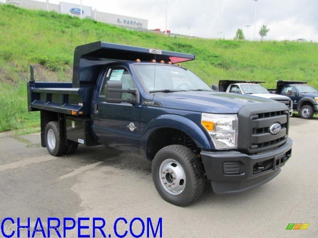 Dark blue pearl ford f350 super duty ford f350 super duty xl regular cab 4x4