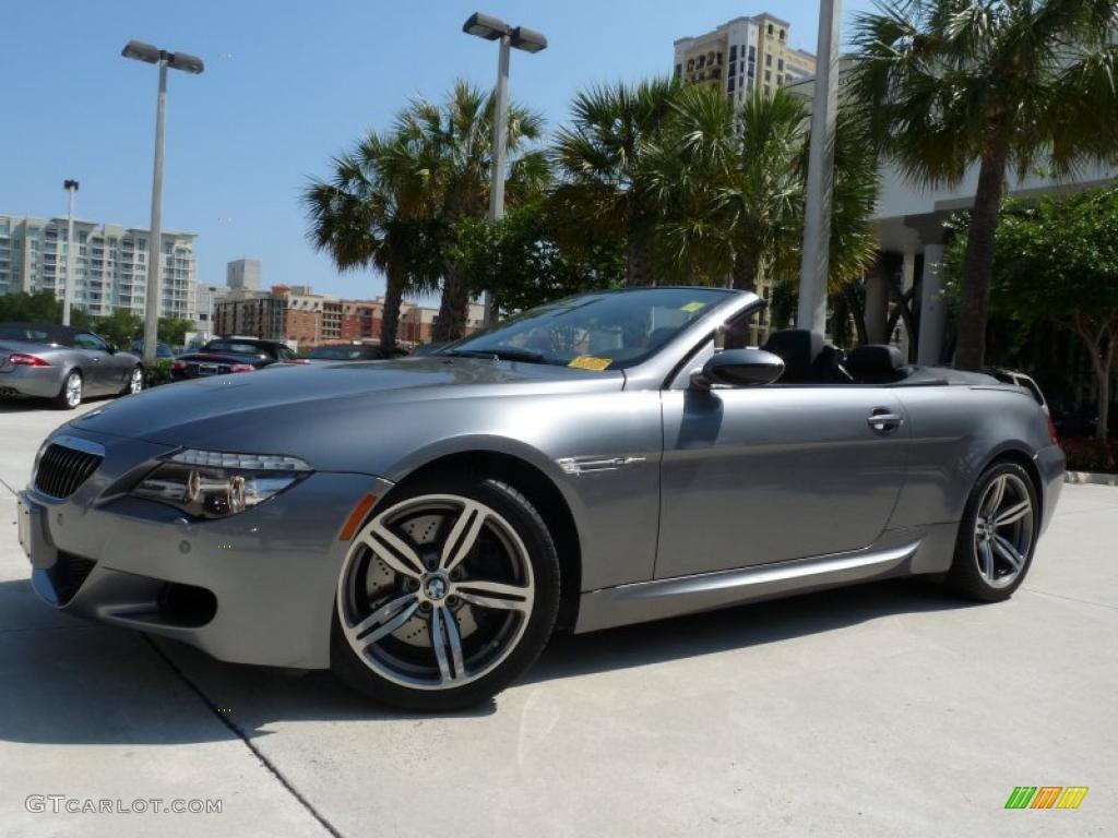 E Grey Metallic Bmw M6 Convertible