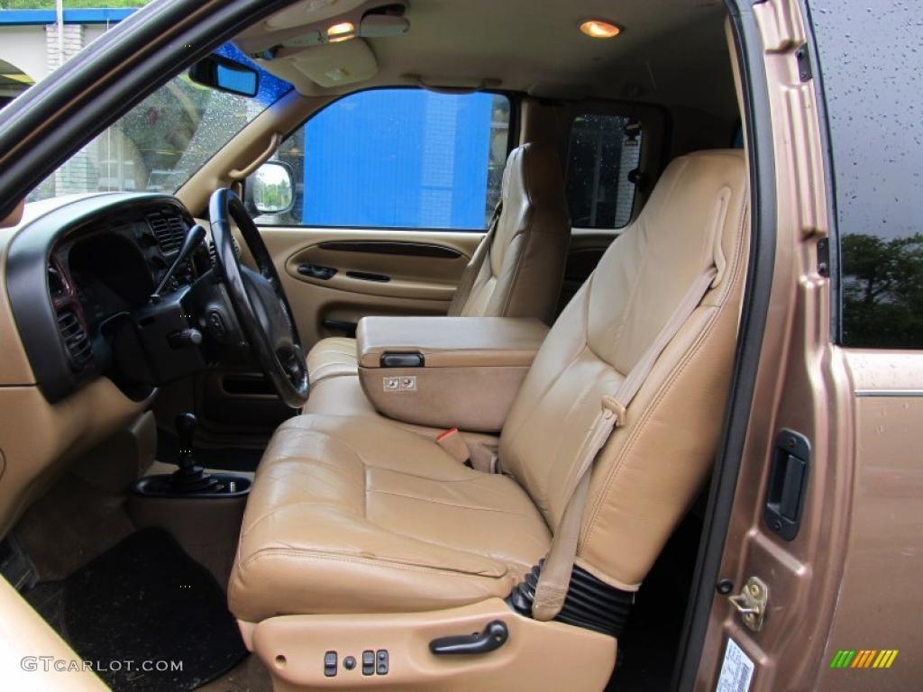 Camel Tan Interior 2000 Dodge Ram 1500 Slt Extended Cab 4x4 Photo 49880099