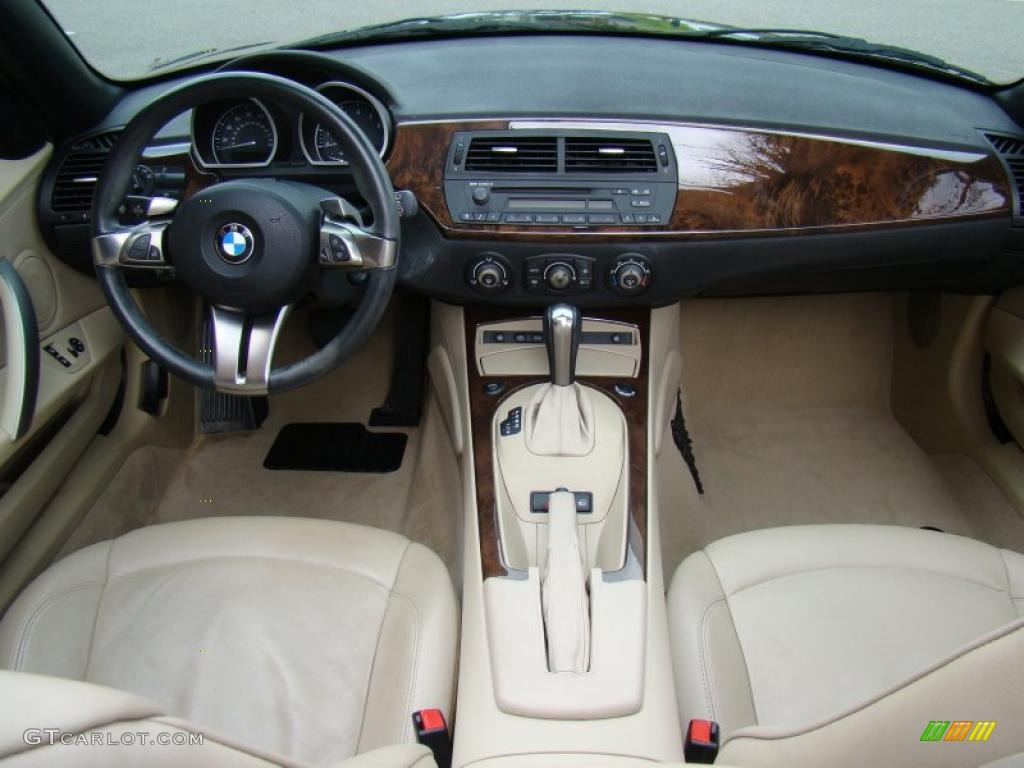 Beige Interior 2006 Bmw Z4 3 0i Roadster Photo 49883441
