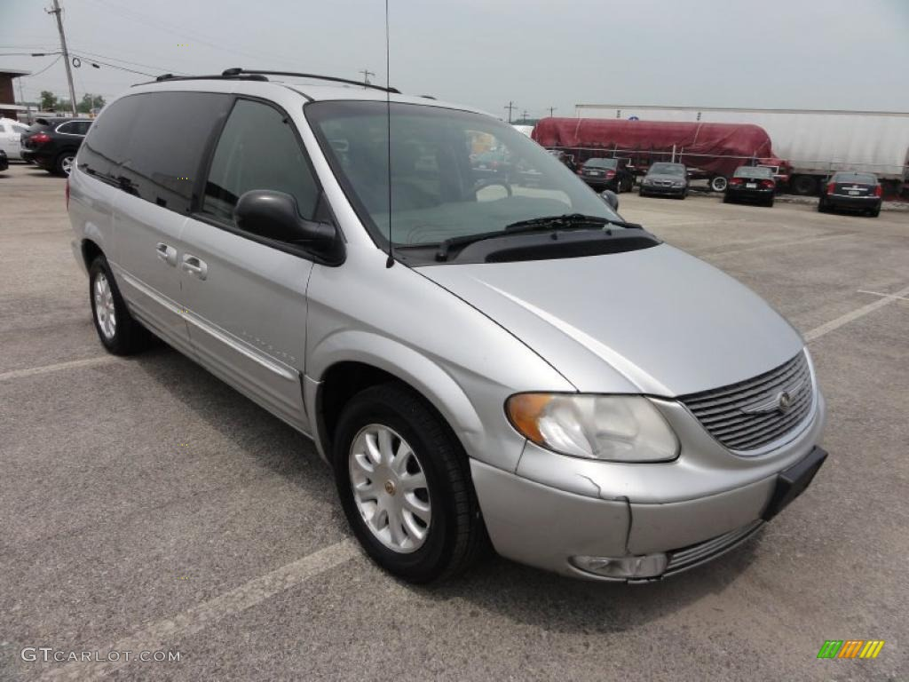 Bright silver metallic 2001 chrysler town country lxi - 2001 chrysler town and country interior ...
