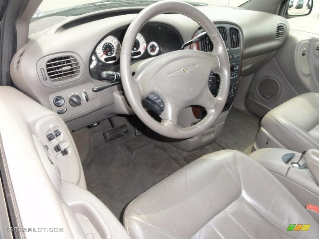 Sandstone Interior 2001 Chrysler Town Country Lxi Photo 49884146