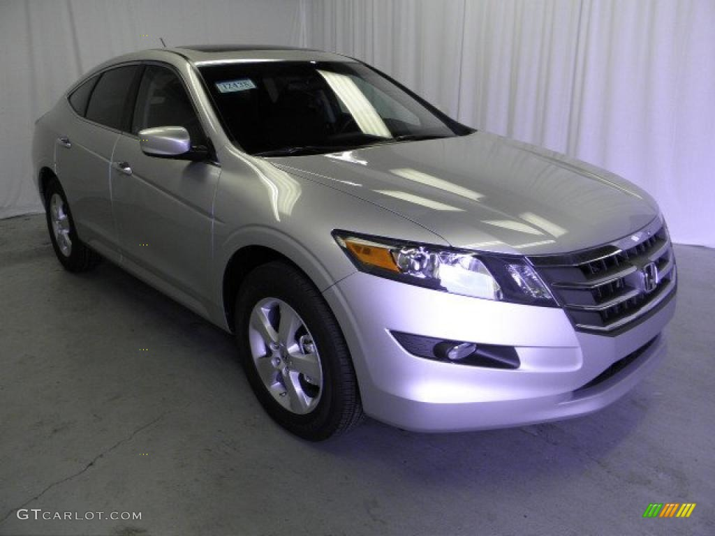 2011 Alabaster Silver Metallic Honda Accord Crosstour Ex