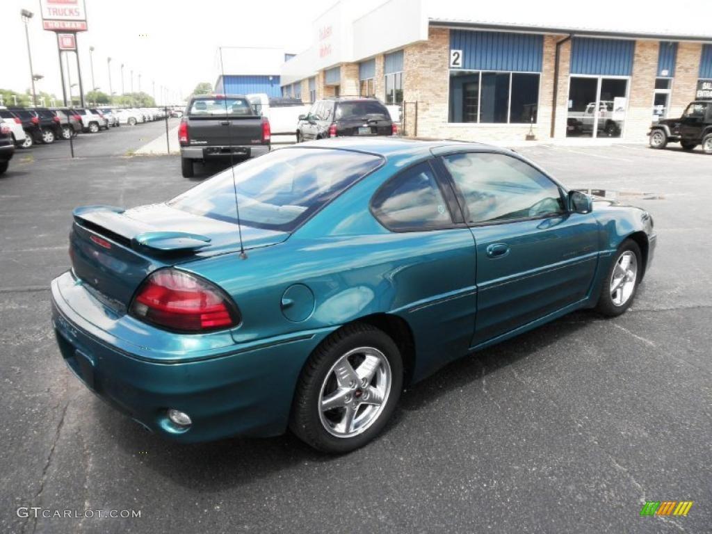 1999 Medium Green Blue Metallic Pontiac Grand Am GT Coupe