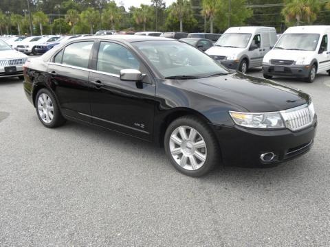 Lincoln Mkz Black. 2008 Lincoln MKZ Black