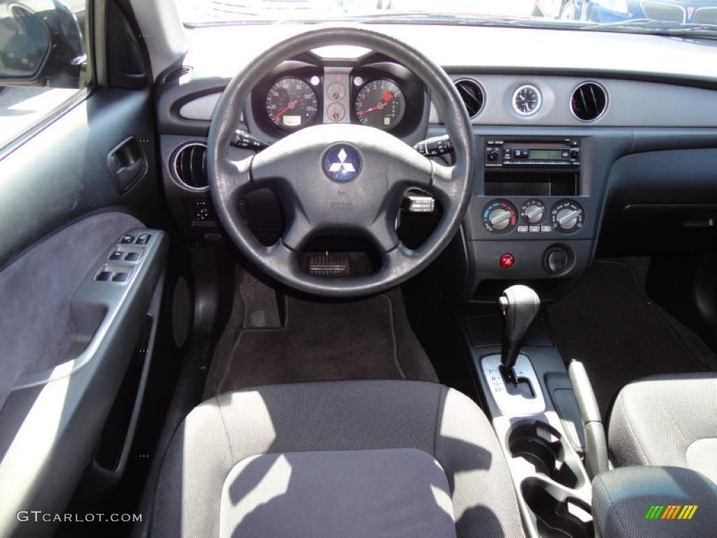 2003 Mitsubishi Outlander Ls Charcoal Dashboard Photo