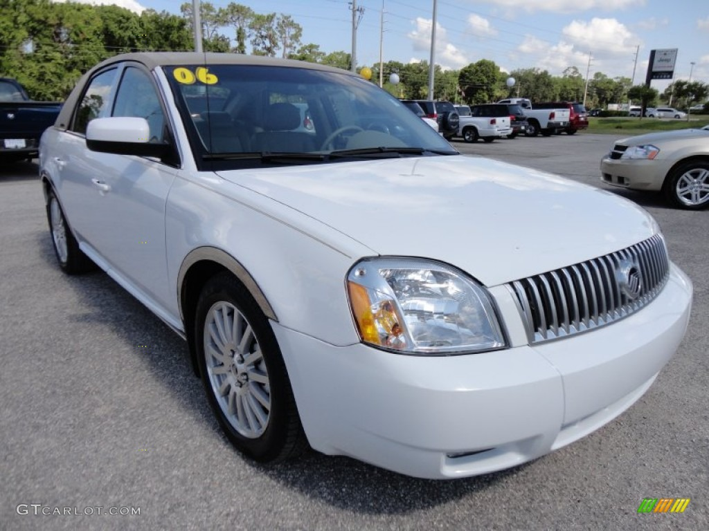 oxford white 2006 mercury montego premier exterior photo. Black Bedroom Furniture Sets. Home Design Ideas