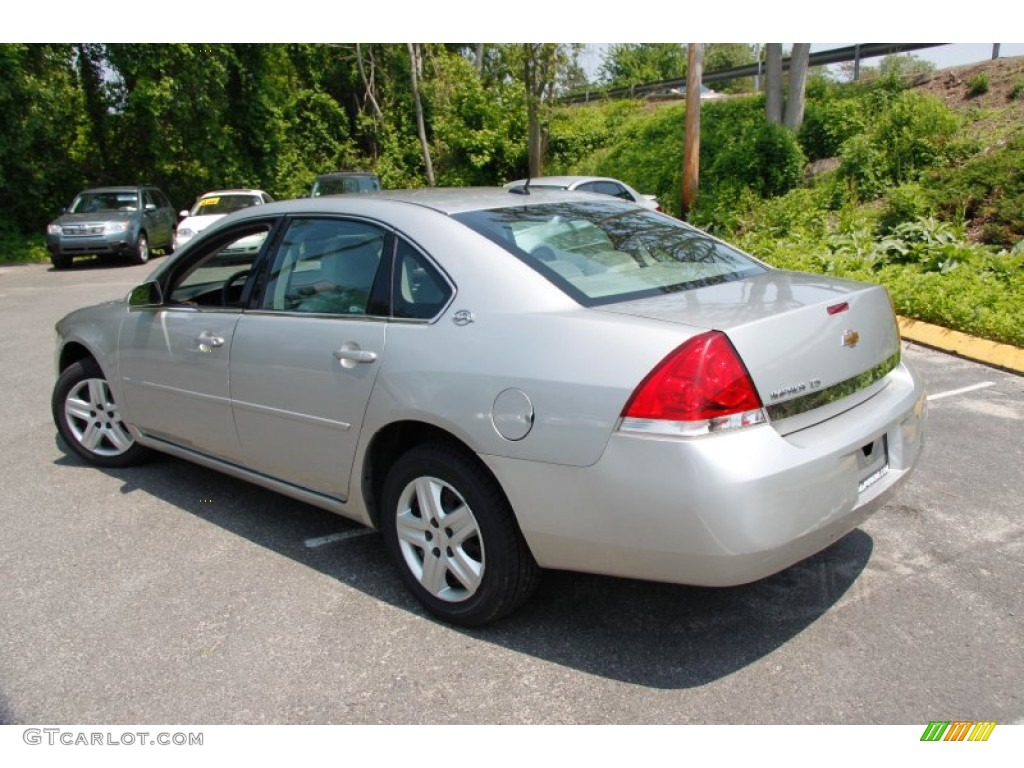 Silverstone Metallic 2007 Chevrolet Impala Ls Exterior Photo 49908594