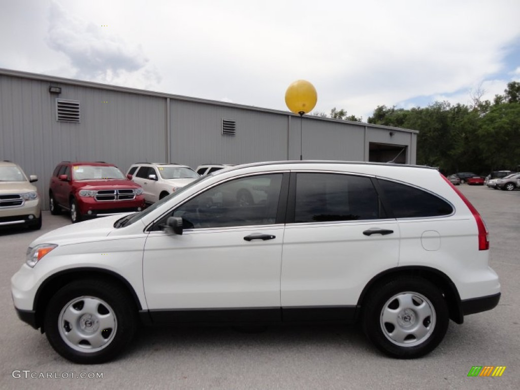 2010 CR-V LX - Taffeta White / Gray photo #2