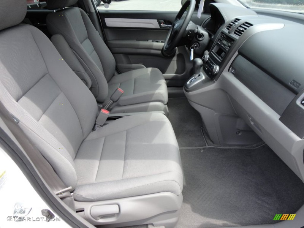 2010 CR-V LX - Taffeta White / Gray photo #18