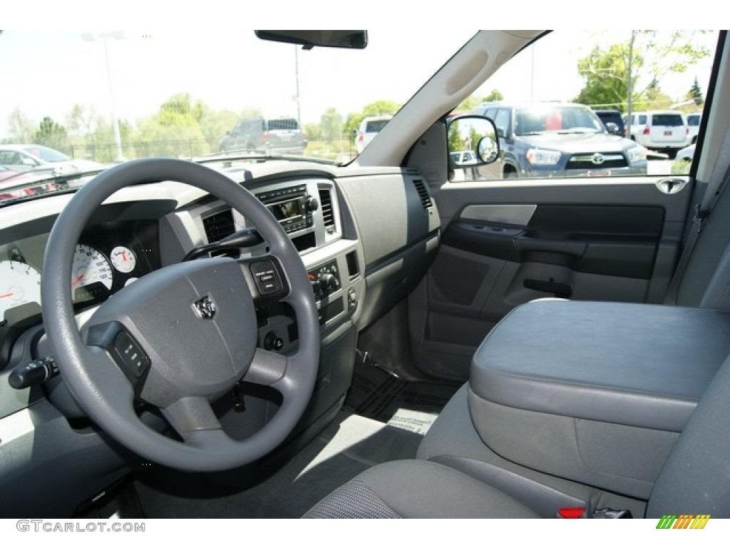 2008 Dodge Ram 1500 Big Horn Edition Quad Cab 4x4 Interior
