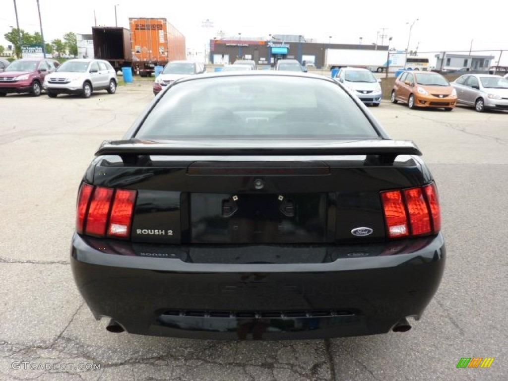 2002 Mustang GT Coupe - Black / Medium Graphite photo #3