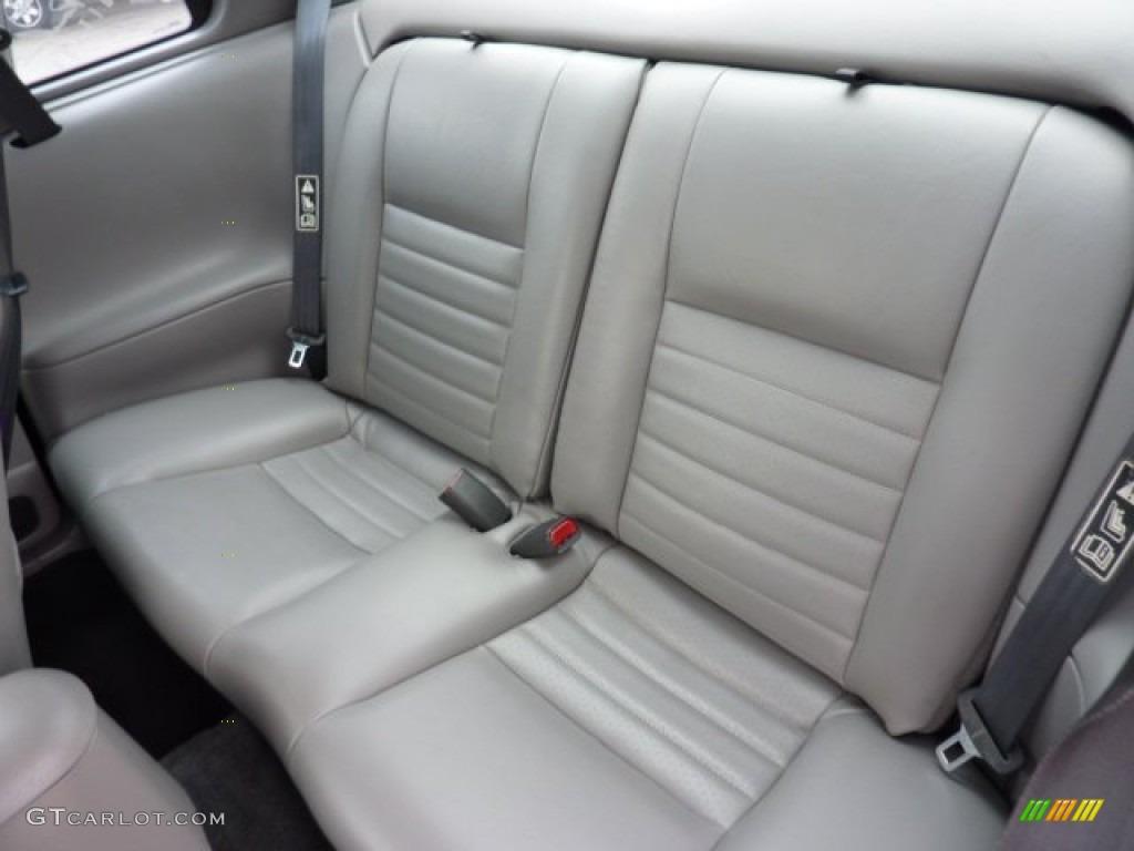 2002 Mustang GT Coupe - Black / Medium Graphite photo #9