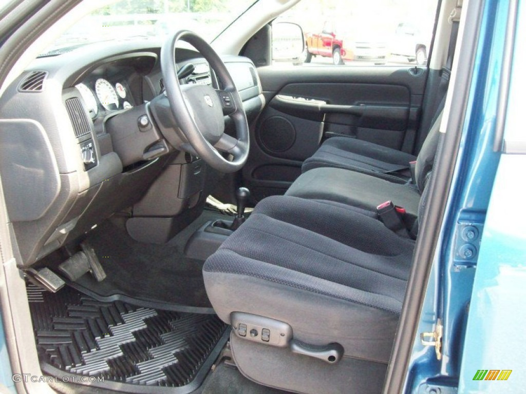 Dark Slate Gray Interior 2004 Dodge Ram 2500 Slt Quad Cab 4x4 Photo 49915782