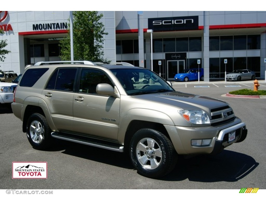 2003 4runner limited 4x4 dorado gold pearl taupe photo 1