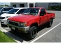 Cardinal Red - Pickup Deluxe Regular Cab 4x4 Photo No. 4