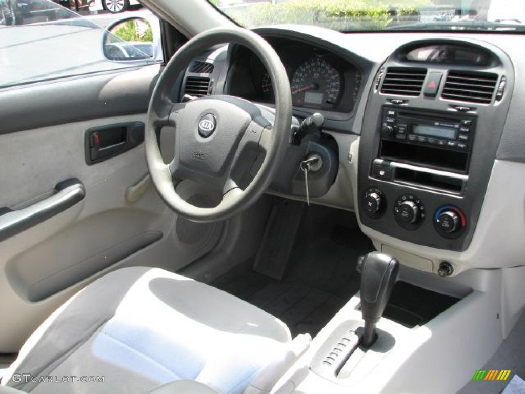 2004 Kia Spectra LX Sedan interior Photo 49924158  GTCarLotcom
