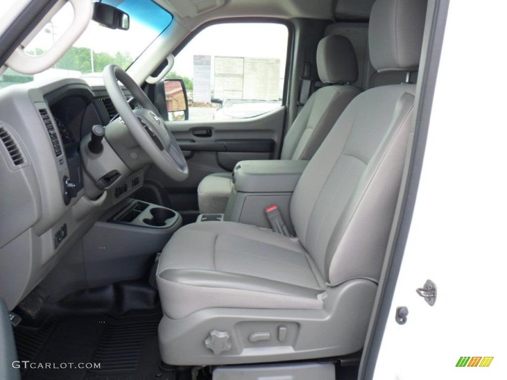 Charcoal Interior 2012 Nissan Nv 3500 Hd Sv Photo 49933176