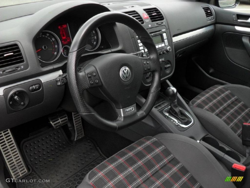 Interlagos Black Cloth Interior 2009 Volkswagen GTI 4 Door Photo #49934709