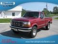 Electric Currant Red Pearl - F150 XLT Regular Cab 4x4 Photo No. 2