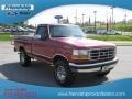 Electric Currant Red Pearl - F150 XLT Regular Cab 4x4 Photo No. 4