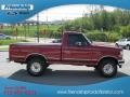 Electric Currant Red Pearl - F150 XLT Regular Cab 4x4 Photo No. 5