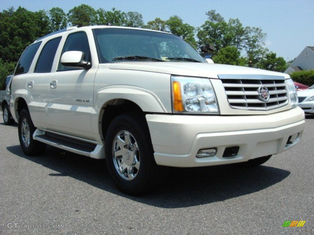 2004 white diamond cadillac escalade awd 49937646 car color galleries. Black Bedroom Furniture Sets. Home Design Ideas