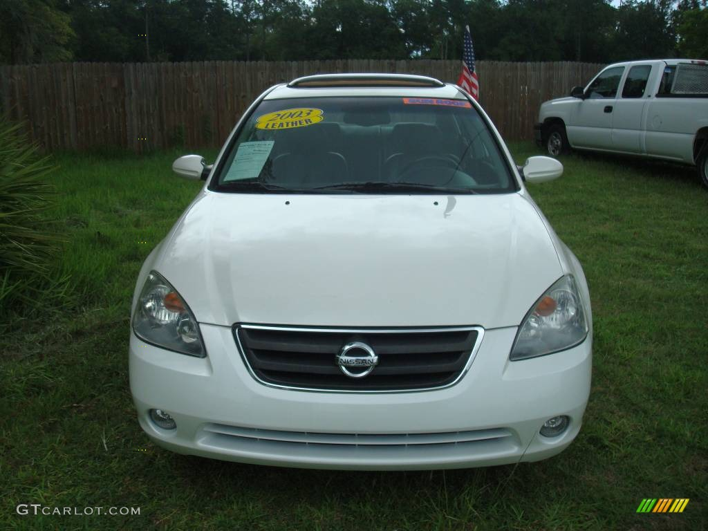 2003 satin white pearl nissan altima 2 5 sl 443290 photo 2 car color galleries. Black Bedroom Furniture Sets. Home Design Ideas