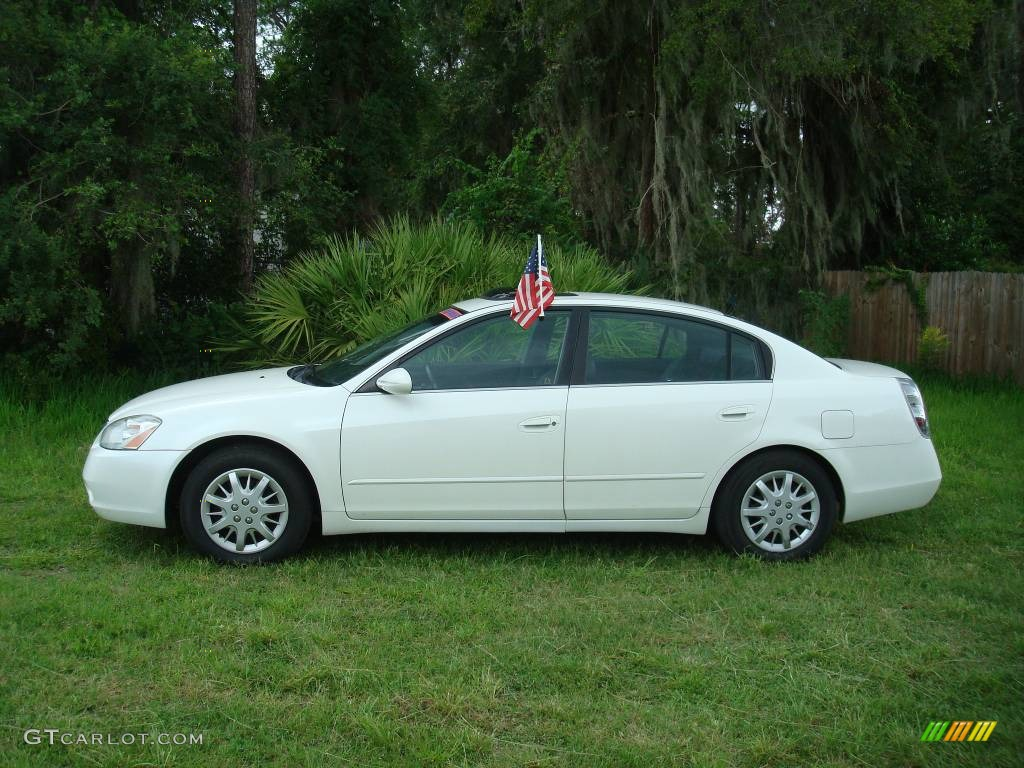 2003 satin white pearl nissan altima 2 5 sl 443290 photo 3 car color galleries. Black Bedroom Furniture Sets. Home Design Ideas