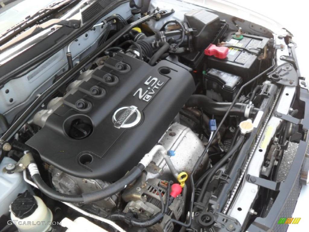 2002 nissan sentra se r spec v engine photos