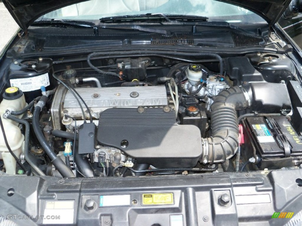 1996 Chevrolet Cavalier Ls Convertible 2 4 Liter Dohc 16