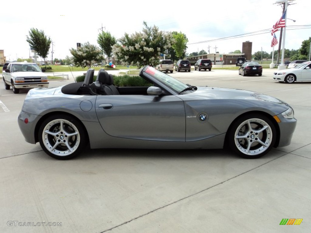 Space Grey Metallic 2008 Bmw Z4 3 0si Roadster Exterior