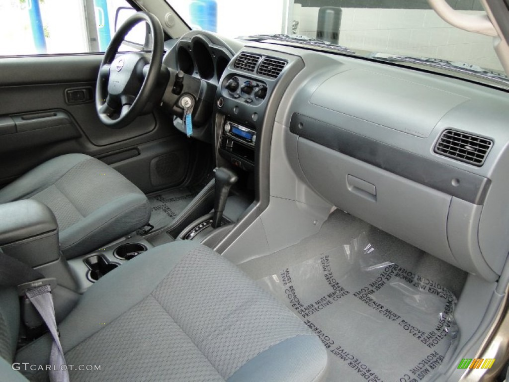Gray Celadon Interior 2002 Nissan Xterra SE V6 Photo #49948103