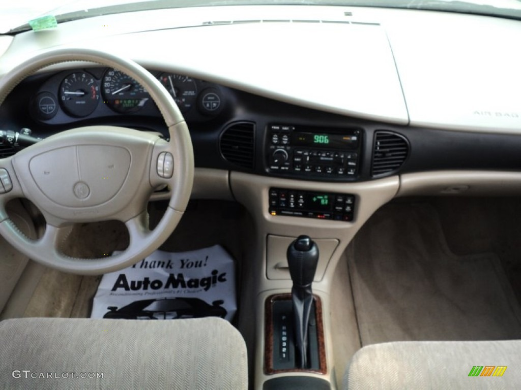 2003 Buick Regal Ls Taupe Dashboard Photo 49953296