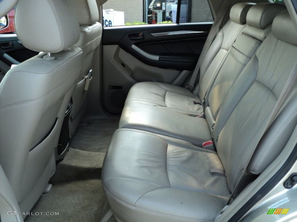 Taupe Interior 2004 Toyota 4runner Limited 4x4 Photo 49954349